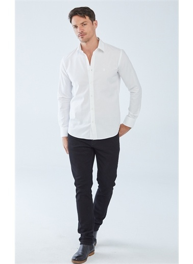 Boris Becker Oxford Gömlek Beyaz